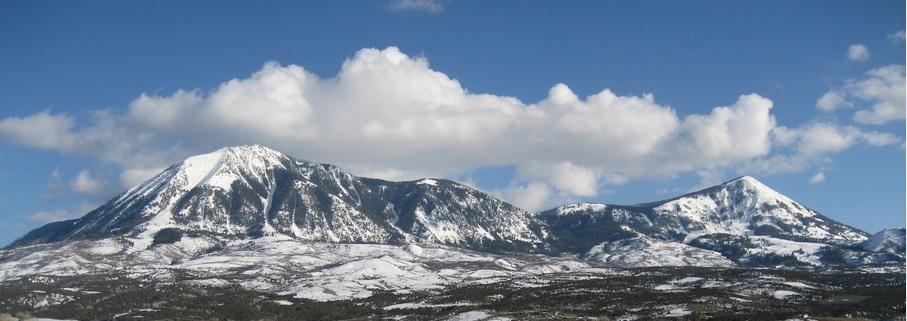 Mount Lamborn Winter
