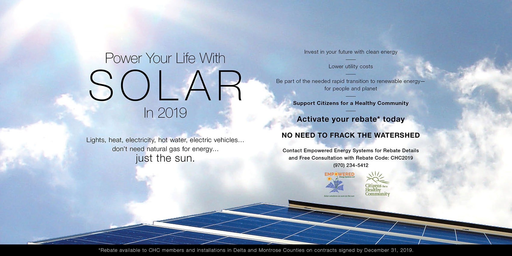 Substitute Solar - Citizens for a Healthy Community